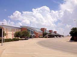 Midland International Airport Terminal-Aug 2013