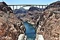 Mike O'Callaghan–Pat Tillman Memorial Bridge From Hoover.jpg