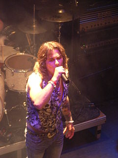 Mike Tramp Danish singer (born 1961)