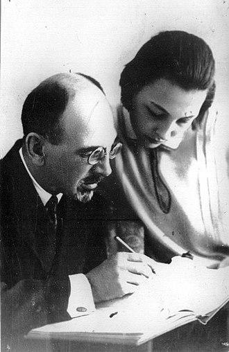 Mikheil Javakhishvili - Image: Mikheil and Ketevan