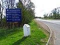 Milestone near St Andrews-2610110 488963e7.jpg