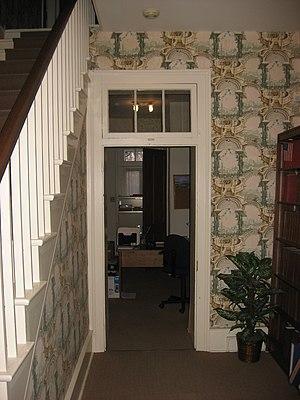 Millen House - First-floor hallway