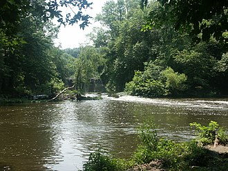Millstone River - Millstone River at Rocky Hill
