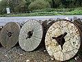 Millstones at Nant-y-Coy - geograph.org.uk - 1011153.jpg