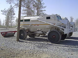Mine clearing vehicles in Afghanistan.jpg