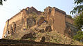 Mingun Pagoda with staircase on it's crack.JPG