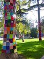 Miranda de Ebro - Yarn bombing en el Parque Antonio Machado 05.jpg