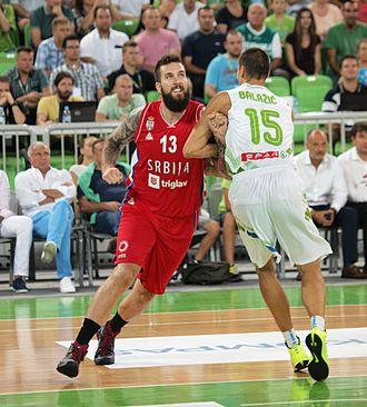Miroslav Raduljica - Miroslav Raduljica (left) vs Jure Balažič