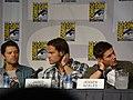 Misha Collins, Jared Padalecki & Jensen Ackles (4852408600).jpg