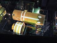 Missile S3 deuxieme etage Musee du Bourget P1010438