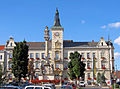 Mistelbach - Bezirkshauptmannschaft, Rathaus (August).jpg