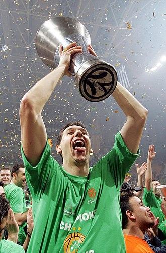 Greek Basketball Championship career statistical leaders - Dimitris Diamantidis, the all-time steals leader of the Greek Championship.