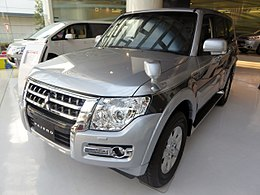 Mitsubishi PAJERO EXCEED (V98W) front.JPG