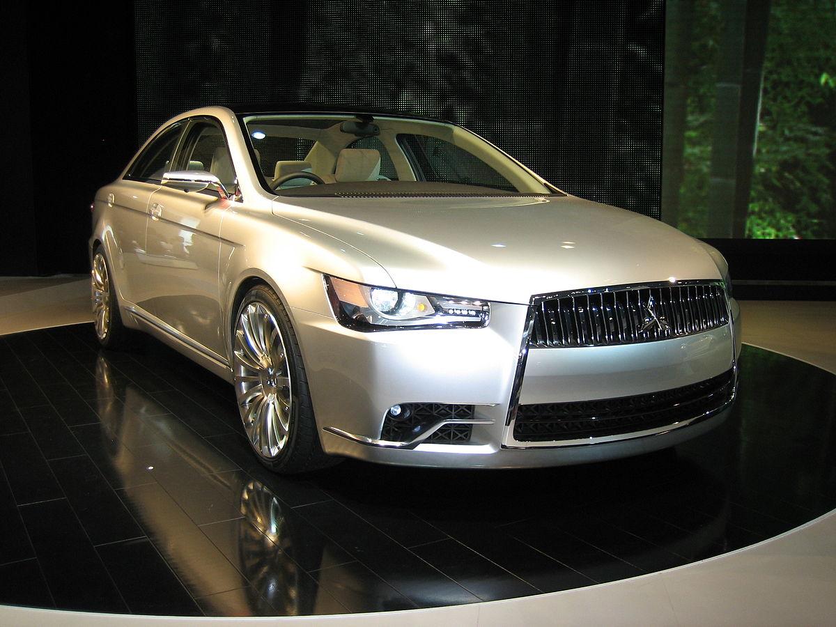 L M Motors >> Mitsubishi Concept-ZT - Wikipedia