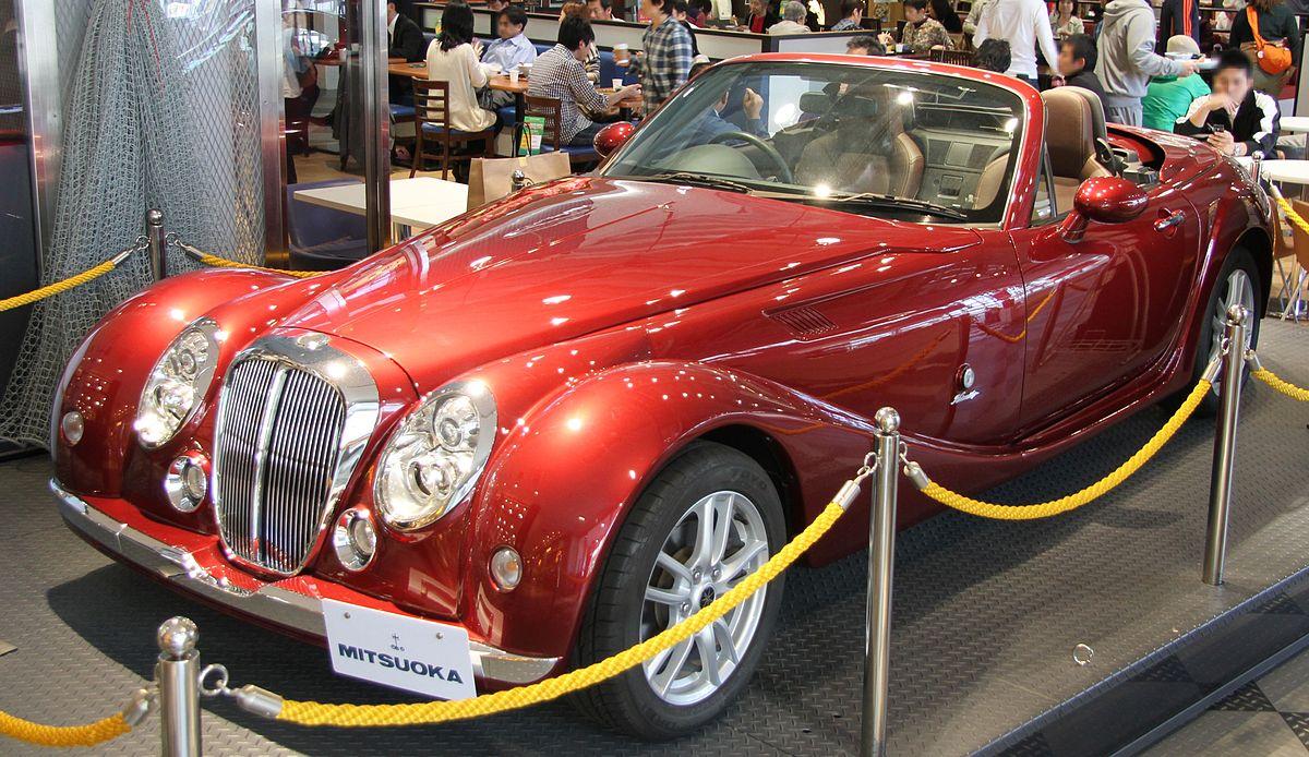 5 Door Car >> Mitsuoka Himiko - Wikipedia