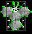 Molybdenum(III) chloride beta polymorph