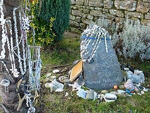 Bernard Moitessier - Moitessier's grave photographed in 2010
