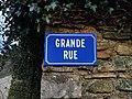 Molamboz - Grande Rue (plaque).jpg