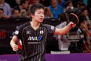 Koki Niwa Japanese table tennis player