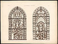 Monografie de la Cathedrale de Chartres - Atlas - Vitrail de sainte Anne portant la Sainte Vierge Feuille B.jpg