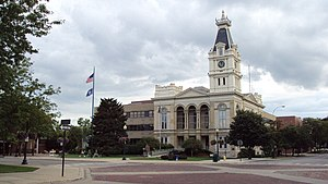 Monroe County, Michigan - Image: Monroe M Icourthouse