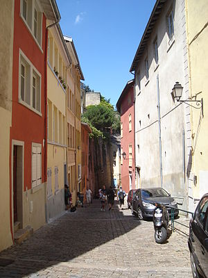 Montée du Gourguillon - Other view of the street