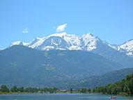 Der Mont Blanc ist mit 4.810m der höchste Berg in der EU