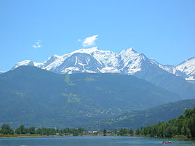 Mont-Blanc and Lake of Passy.JPG