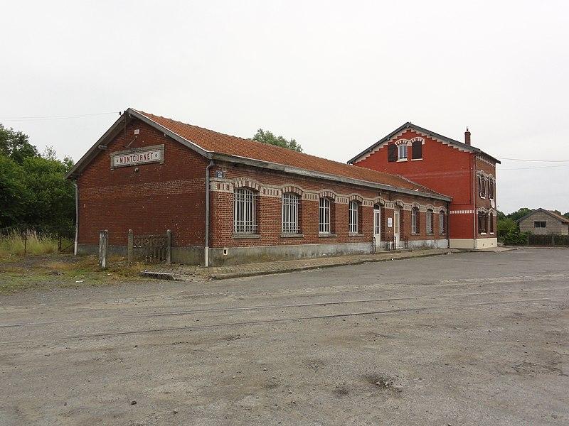 Montcornet (Aisne) gare de Montcornet
