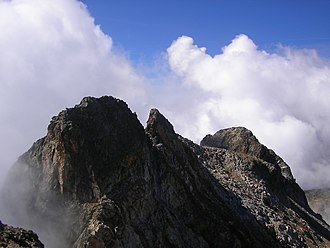 Monte Matto - The central peak of Monte Matto