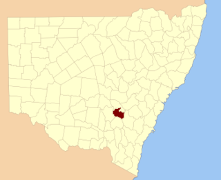 Monteagle County Cadastral in New South Wales, Australia