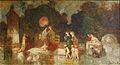 Monticelli - Scène de parc, femmes, enfants, cygnes et chiens.jpg