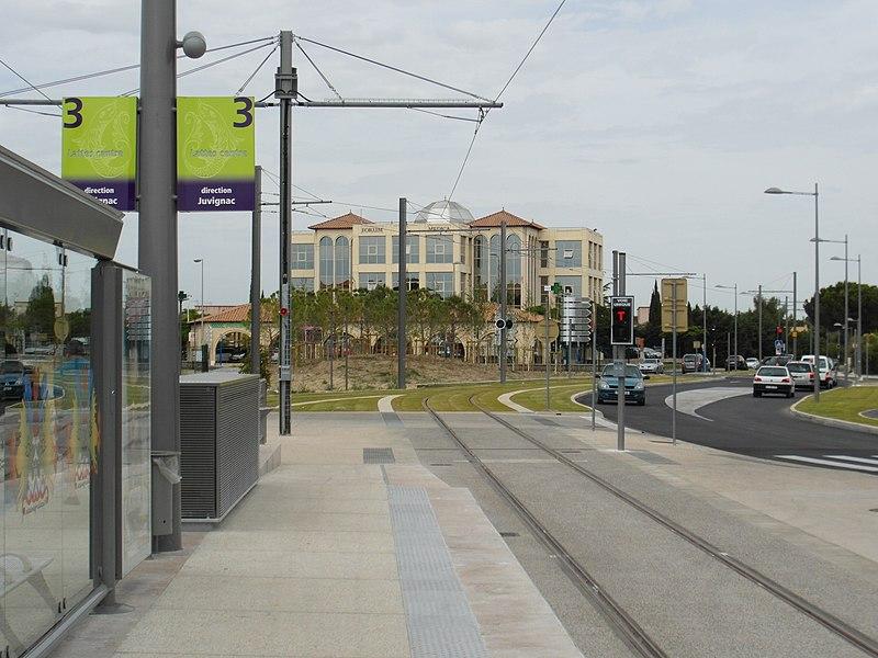 Montpellier - Tramway - Ligne 3 - Centre-Ville - Lattes
