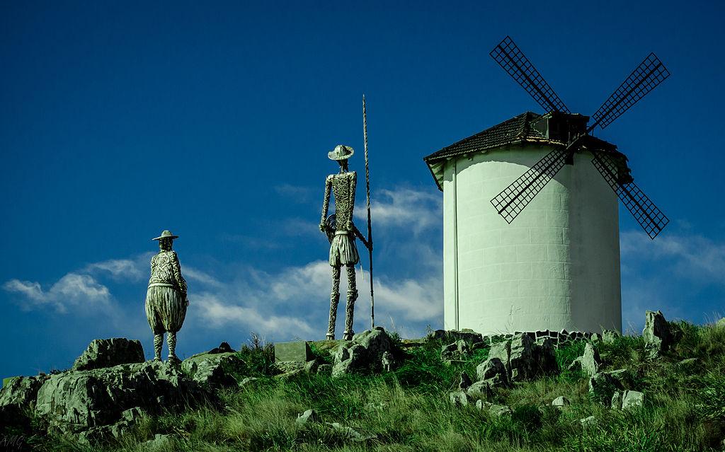 Monumento a Don Quijote y Sancho Panza en Tandil