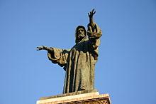 Odoardo Tabacchi, monumento a Arnaldo da Brescia, 1882, Brescia