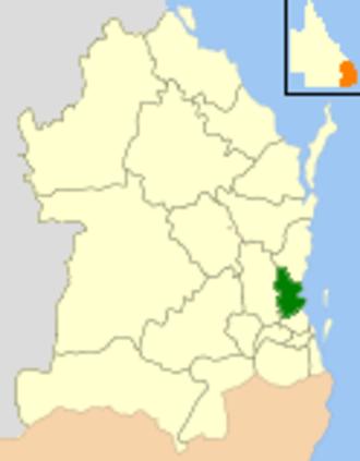 Moreton Bay Region - Moreton Bay in south-eastern Queensland