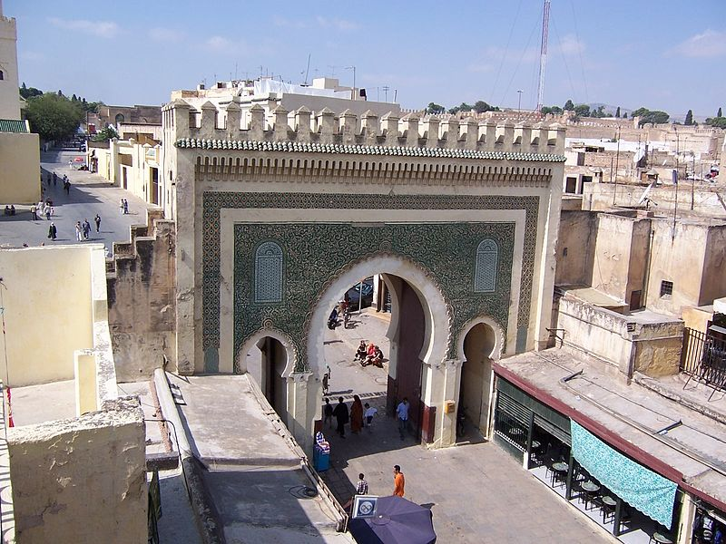 Ficheiro:MoroccoFes gate2.jpg