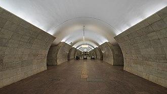 Tverskaya (Moscow Metro) - Image: Mos Metro Tverskaya img 2 asv 2018 01