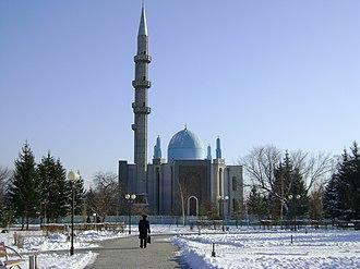 Oskemen - Mosque in Oskemen