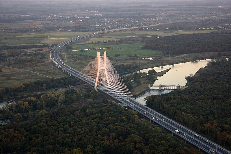 Plik:Most Redzinski z lotu ptaka.jpg