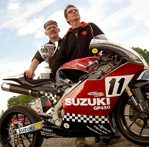 Mike Edwards (motorcycle racer) - Image: Moto 450 trophy