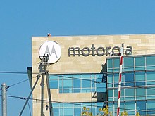 Motorola Mobility Logo Being Installed.jpg