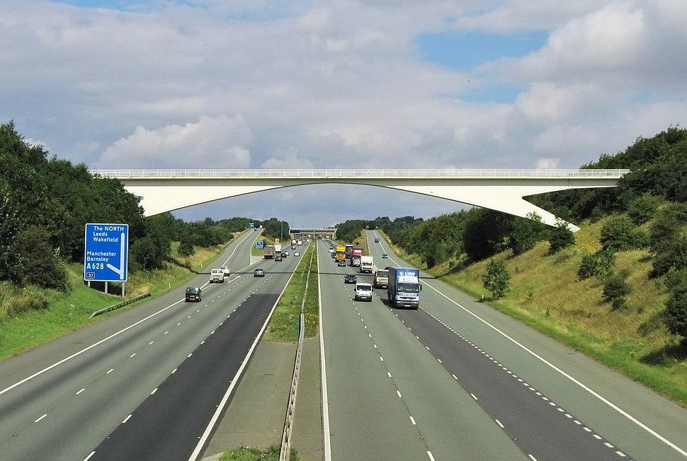 Motorway M1 Yorkshire 2007-08-13