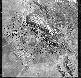 Birya Fortress - Image: Mount Canaan iii