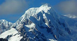 Mount Tasman Mountain in New Zealand