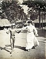 Mrs. Wilkins teaching an Igorotte boy the cakewalk at the 1904 World's Fair.jpg