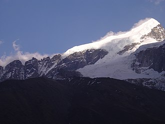 West Sikkim district - Image: Mt. Pandim and cloud