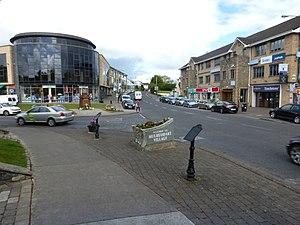 Mulhuddart - Main junction at Mulhuddart