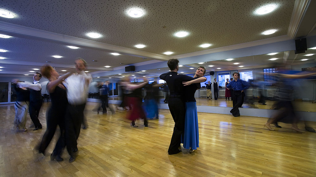 Munich - A Ballroom dance school - 9230