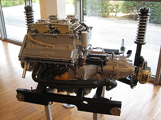 Lamborghini V8 Motor vehicle engine